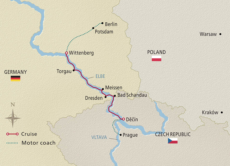 Elegant Elbe 2021 Map
