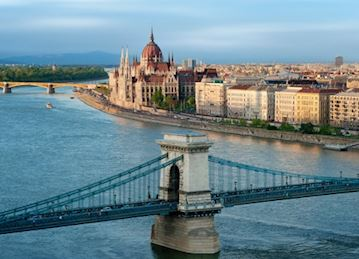 Photo of Budapest, Hungary and the Danube