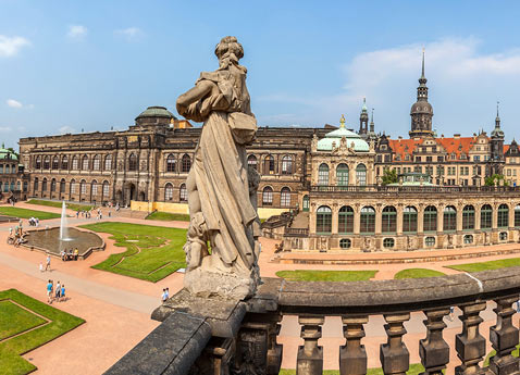Elbe River Cruises: View of Zwinger Palace