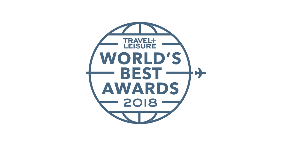 Travel + Leisure's World's Best Award 2018