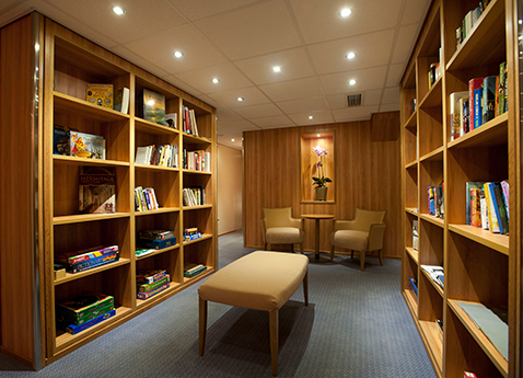 The Library on board Viking Russia vessel