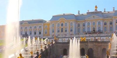 Peterhof Palance in St. Petersburg, Russia