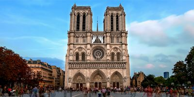 Exterior view of Notre Dame Cathedral
