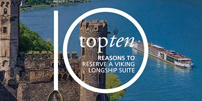 Top 10 Reasons to Reserve a Viking Longship Suite