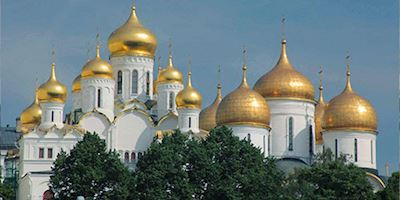 Annunciation Cathedral in Moscow, Russia