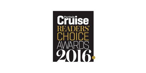 Porthole Cruise Readers Choice Award winner 2016 logo