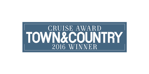 Logo of Town & Country 2016 Winner Cruise Award