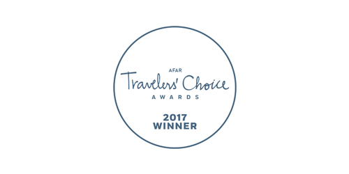 Travelers' Choice Awards 2017 winner logo